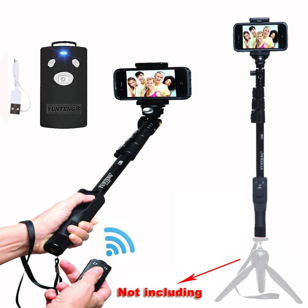 Yt-1288 Selfie Stick Yunteng 1288 Stativ Monopod Bluetooth - Kamera in foto - Fotografija 6
