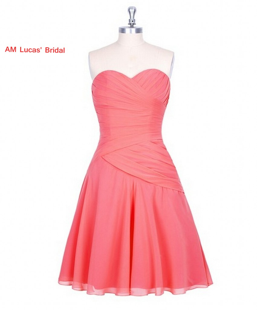 New A line   Cocktail     Dress   Chiffon Knee Length Prom Party Gowns   Cocktail   Party Short   Dresses   Vestido De Festa Curto