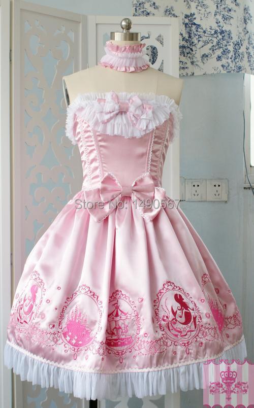 Princess Sweet Love Lolita Dress Royal Spring Autumn