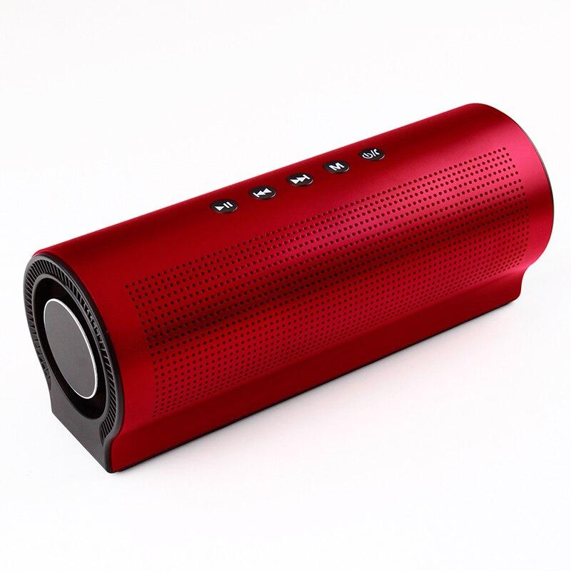 Hifi Bluetooth haut-parleur Portable sans fil haut-parleur batterie externe 18 w 2200 mah stéréo Super basse Caixa boîte de son main libre pour téléphone
