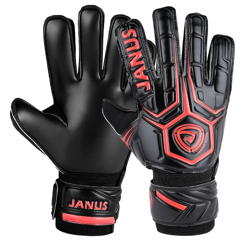 New adult professional goalkeeper gloves men's football goalkeeper gloves thickened finger guard goalie soccer goalkeeper gloves power and memory 6 electronic counter jd116h other page href