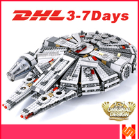 Lepingly Compatible Legoing starwars sets 75105 Star wars Force Awakens Millennium falcon Compatible Building Blocks Toys 05007