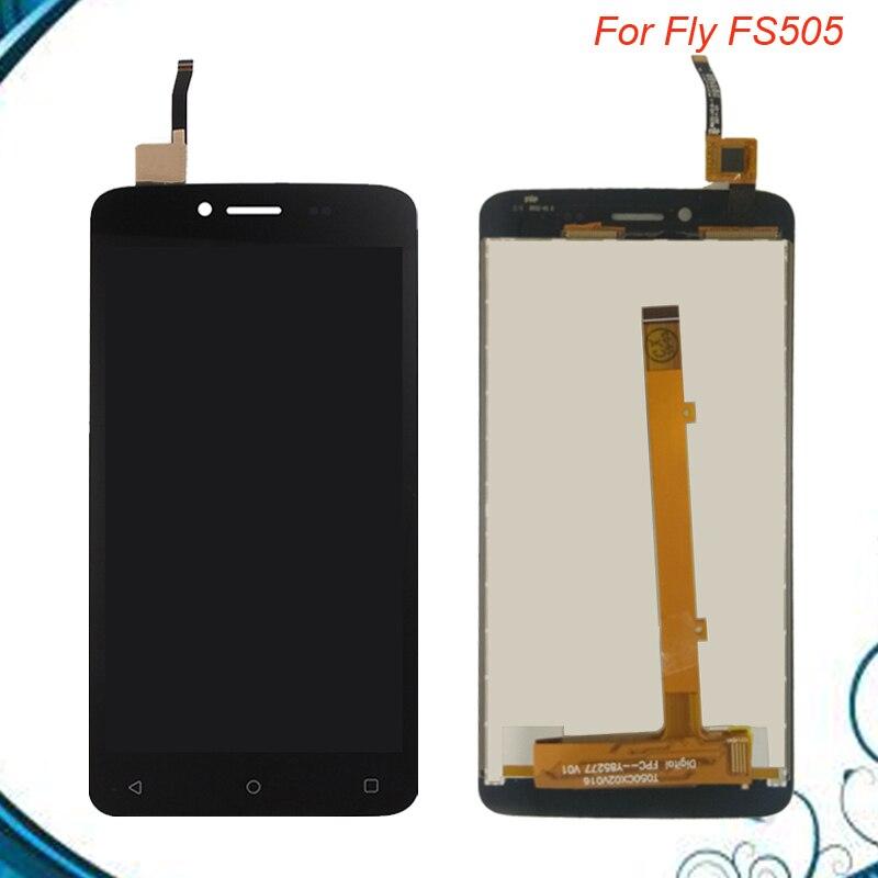 Haute qualité pour FLY FS505 Nimbus 7 écran LCD + écran tactile panneau 100% écran numériseur assemblée pièces de réparation 5 pouces en Stock