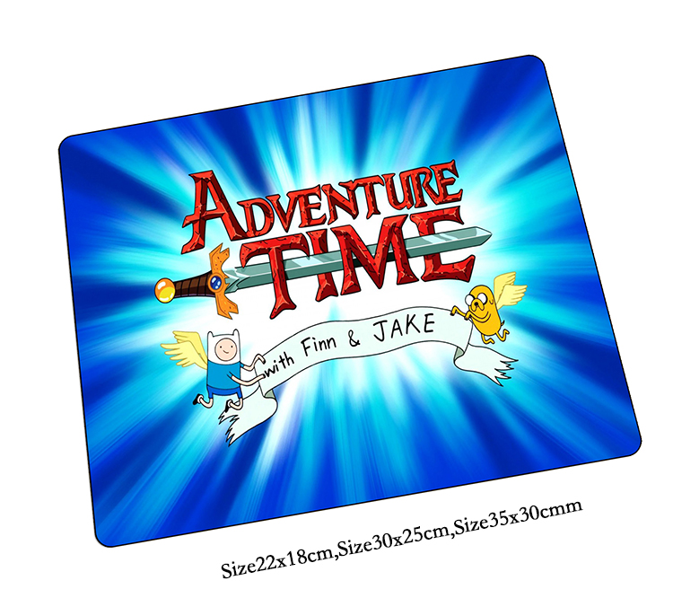 Adventure Time mouse pad best seller pad to mouse notbook computer mousepad cheapest gaming padmouse gamer to laptop mouse mats
