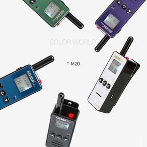 Image 5 - Mini Walkie Talkie de mano para niños, Radio bidireccional de 400 a 480MHZ, T M2D, súper pequeña, FRS/GMRS Walky Talky, 2 uds.