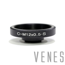 Venes C Mount Objektiv zu M12, Aluminium Objektiv Adapter Anzug Für CS oder C Mount Objektiv zu M12 kamera