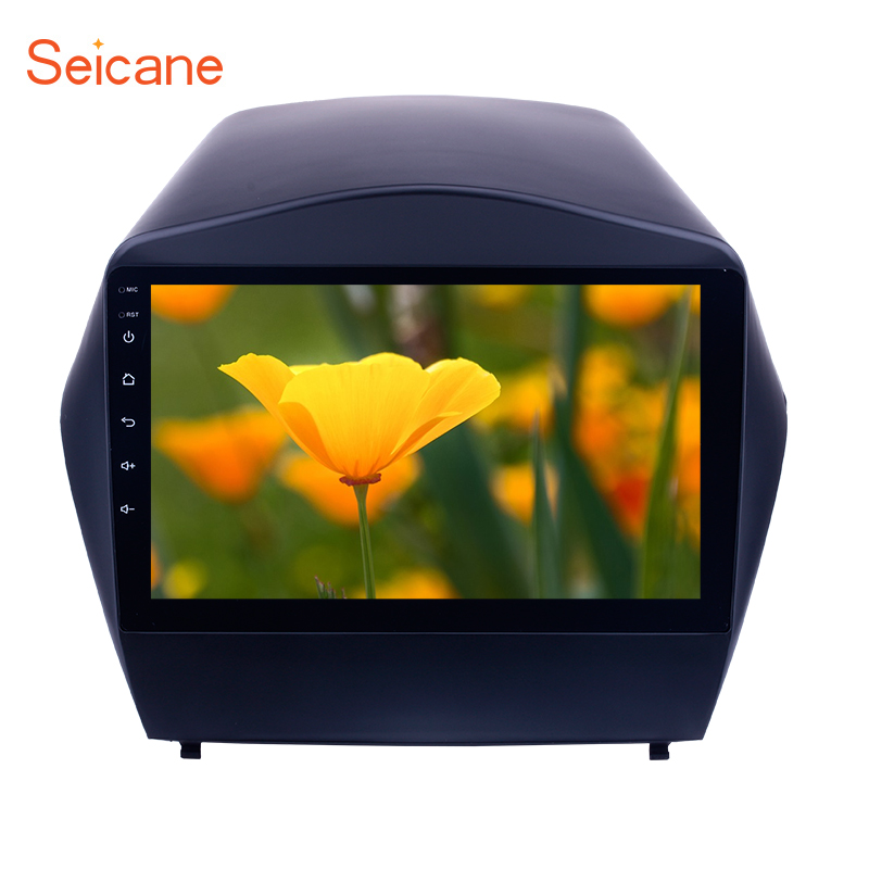 Seicane 9 inch Android 6.0 Car Radio for 2009 2010 2011-2015 Hyundai IX35 with GPS Stereo Unit Player Bluetooth WIFI Mirror Link farcar s130 hyundai ix35 2011 2015 android r047