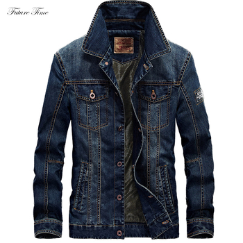 Men Jacket Denim Jeans Jackets and Coats for Autumn Casual Slim Brand Clothing Cowboy Jeans Jacket 2018 Mens Streetwear C1618