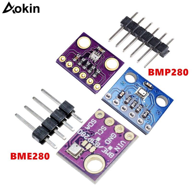 2X Temperatur Luftfeuchtigkeit Luftdruck BME280 Digitales Sensormodul S6I9