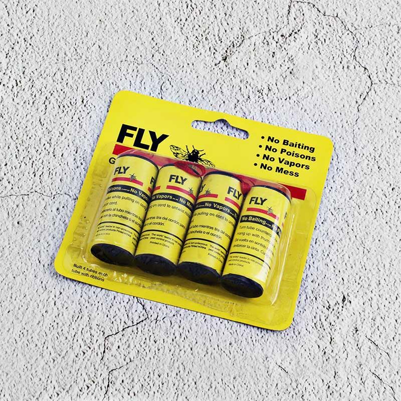 Устранить мух насекомых насекомых липкая бумага мухи портативная ловушка для 4 рулонов ловушка мух