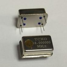 1 قطعة/الوحدة 16.000000 ميجا هرتز TCXO 16 ميجا هرتز 16 متر 16.000000 0.1PPM TCXO نشط كريستال مذبذب DIP4 جديد