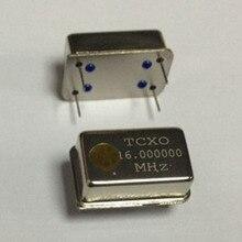 1 ピース/ロット 16.000000 mhz tcxo 16 mhz 16 メートル 16.000000 0.1PPM tcxo アクティブ水晶発振器 DIP4 新