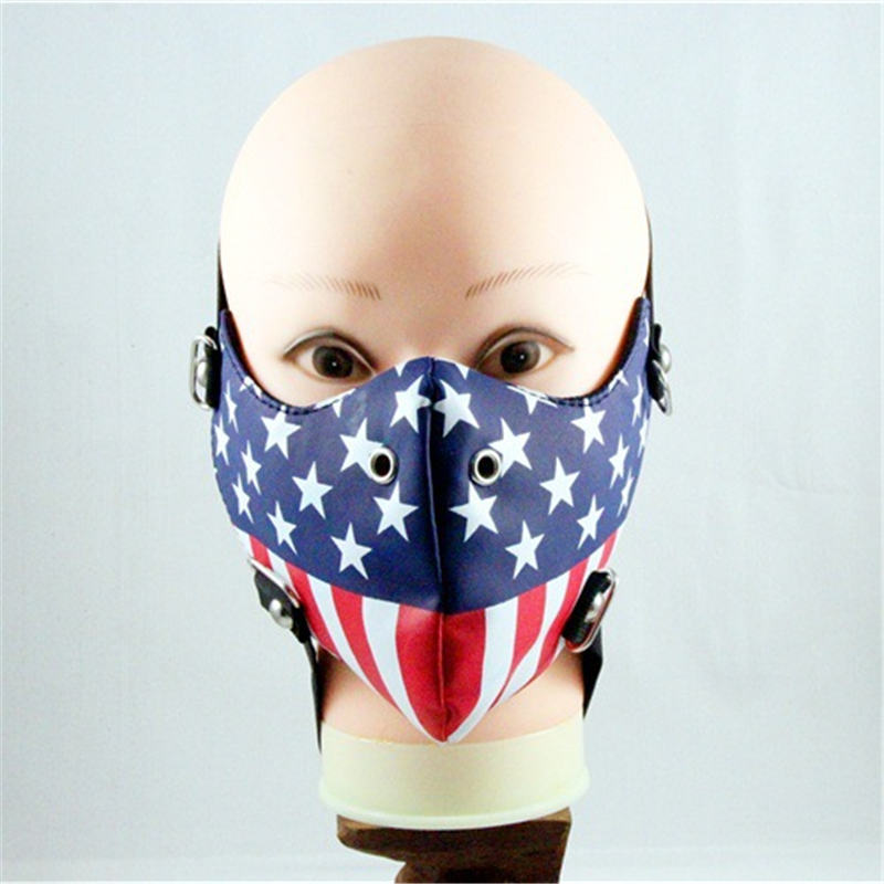10pcs/Pack Christmas Gifts Europe And The United States Style Tide Performance Masks Wind And Dust Fashion Personality Masks 10pcs pack new influx of people performing masks ghoul stage masks men and women personality dustproof windproof masks