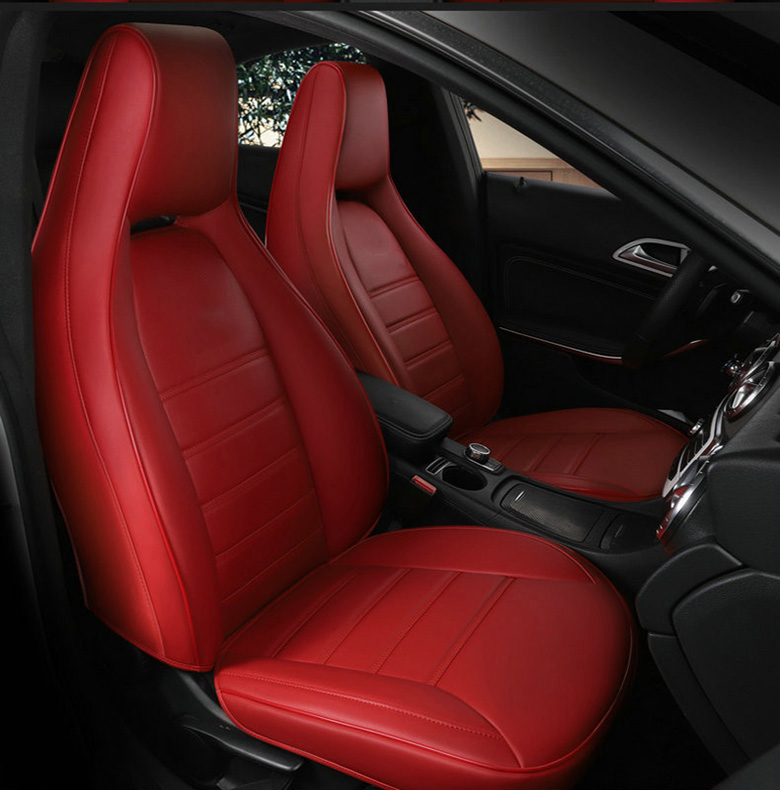custom Leather car seat cover for auto Mercedes Benz gla200 gla260 cla200 cla 220 cla260 A 180 A200 auto accessories car styling