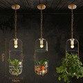 Droplight Pastoral Lustre Moderno E Minimalista Criativo Ecológicos Sala de Estudo de Cabeceira Com Água Para Fábrica De Vidro Lustre