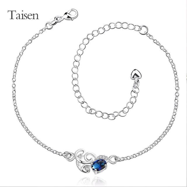 d8f835f30d1 anklets for women foot jewelry anklets for ladies charms feet silver chain  fashion flower ankle chain