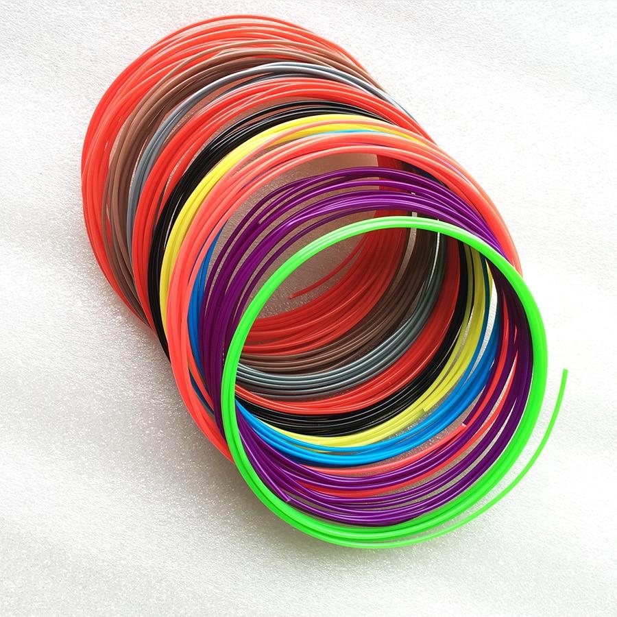 3D Pen PLA Filament 3D Printing Pen Filament Refills 1.75mm 3D Doodler Pen ...