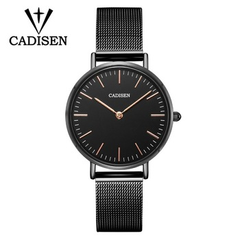NEW CADISEN Luxury Watch Fashion Women Watches Quartz Watch Waterproof Ladies Casual Dress Wristwatch montre femme dropshipping