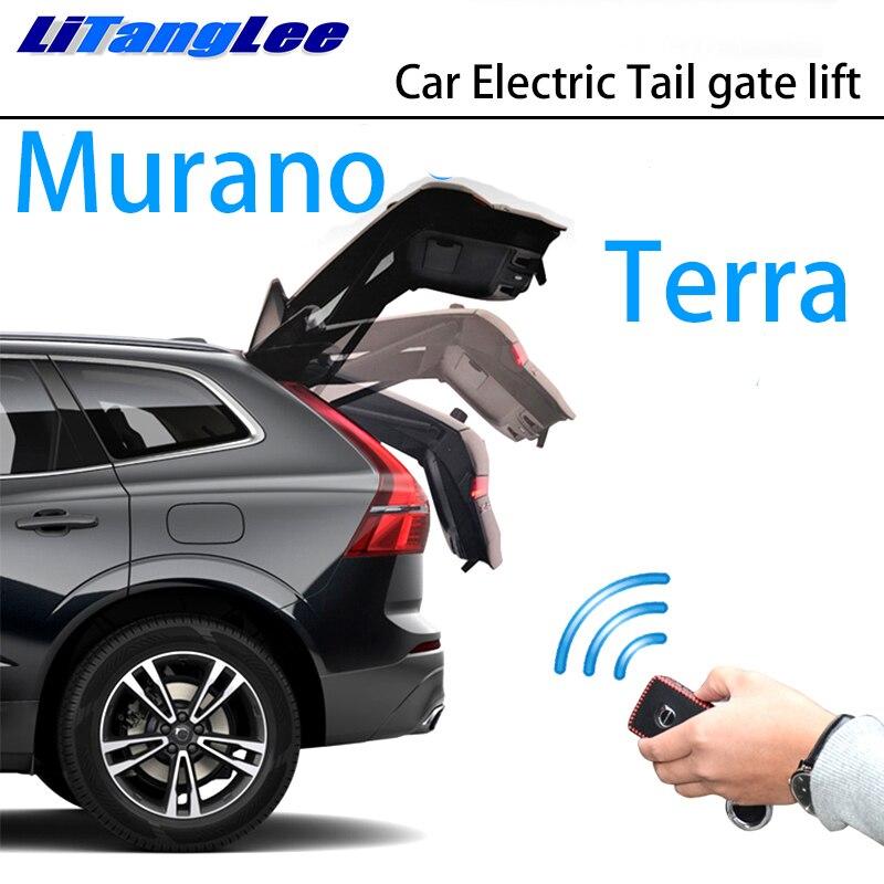 LiTangLee Car Electric Tail Gate Lift Trunk Rear Door Assist System For Nissan Murano Terra D23 Z52 P42M 2015~2019 Key Control