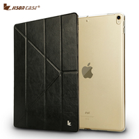 Smart Cover For IPad Pro 10 5 2017 Case Jisoncase PU Leather Magnetic Functional Folding Tablet