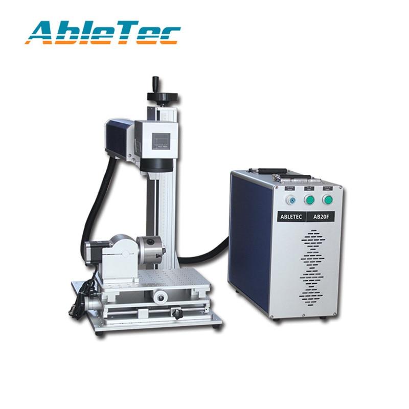 ACCTEK Gold metal plate laser marker laser marking fiber ,mini laser marking machine