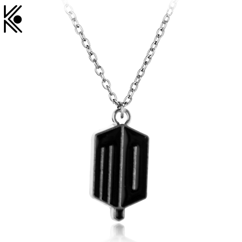 2016 New Hot Selling Dr Doctor Who Necklace Tardis Police Box Vintage Necklace black Plated Pendant Jewelry For Men And Women