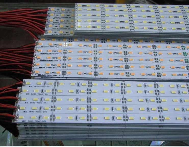 5/10 Buah Tinggi CRI Ra 90 + DC12V SMD5630 72 LED/M Super Terang LED Rigid Strip lampu untuk Diy LED Panel Cahaya/Home/Lemari Dapur