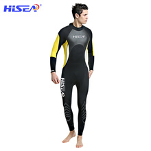 HISEA 3MM Neoprene Wetsuits Adult Diving Suit Keep Warm Airtight Jellyfish Snorkeling Surfing Water Skiing Scuba F