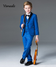 Best Man Wedding Suits Kids Childrens Groomsman Tuxedo Prom Party Suit