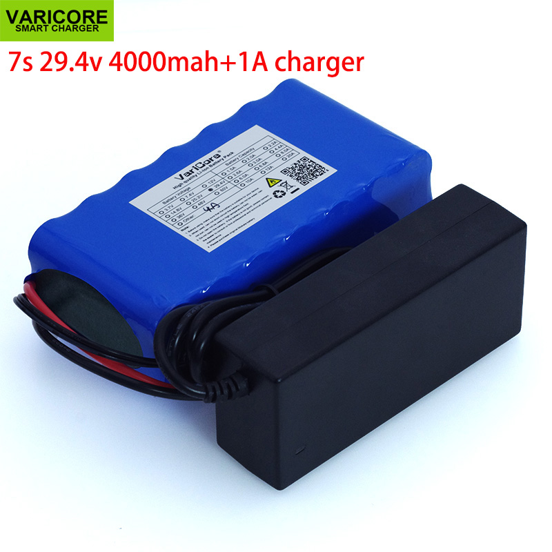 <font><b>24V</b></font> <font><b>4Ah</b></font> 7s 6s 2P 18650 <font><b>Battery</b></font> li-ion <font><b>battery</b></font> 29.4v 4000mAh electric bicycle moped /electric/<font><b>lithium</b></font> ion <font><b>battery</b></font> pack+Charger image