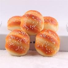 Детские кухонные игрушки пончики имитационная модель Искусственные Поддельные Украшения в виде хлеба торт пекарня ремесло высокое качество