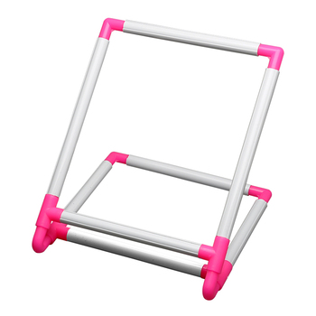 Tambour Embroidery Frame Practical Universal Clip Plastic Cross Stitch Hoop Stand Holder Support Rack DIY Craft Handheld Tool embroidery
