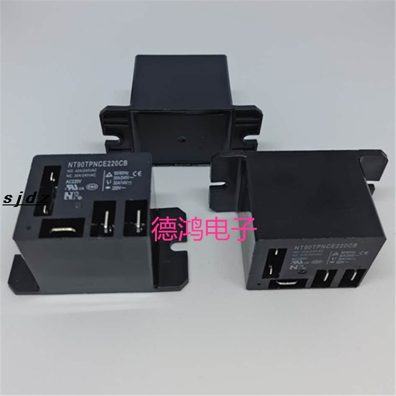 Air Conditioning Relay NT90TPNCE220CB A Set Of Switches Normally Open 40A Normally Closed 30A Coil AC220V.