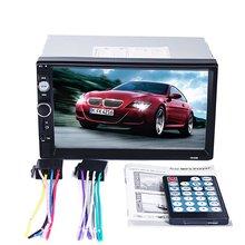 7010B 7 дюймов 2 Din HD сенсорный экран Bluetooth видео MP3 MP5 плеер gps навигация fm-радио Поддержка камеры заднего вида