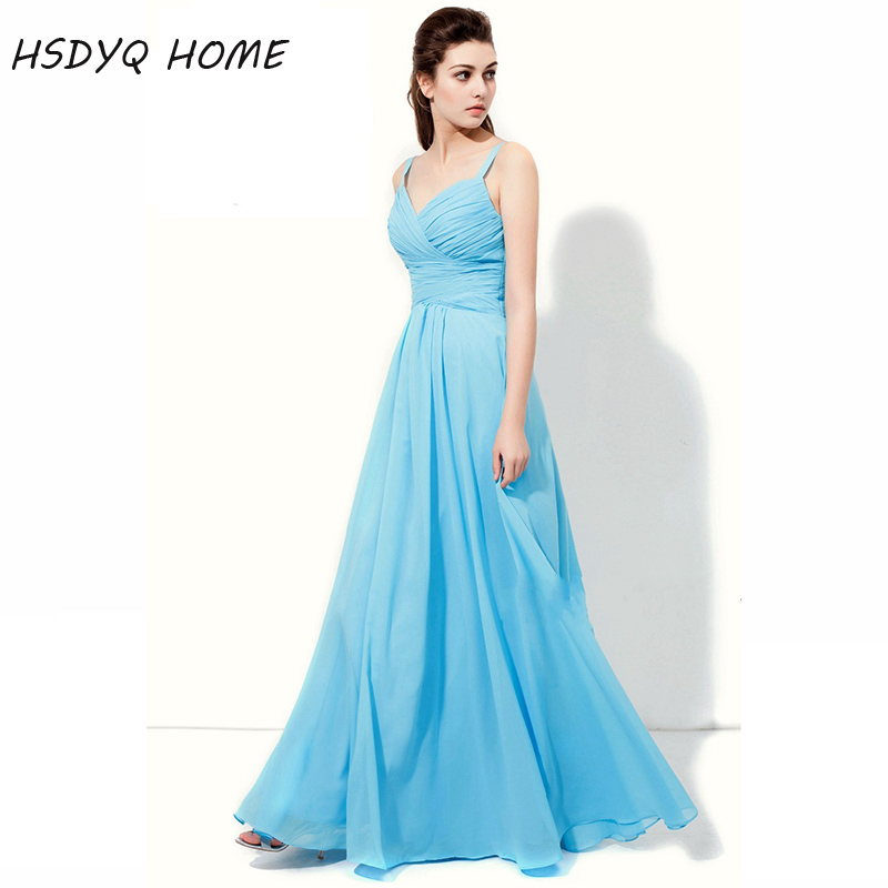 c66a75b1383c Online Shop Summer Sky Blue Prom evening Dresses Sexy party gown New  Arrival Floor Length Prom Dress 2018 | Aliexpress Mobile