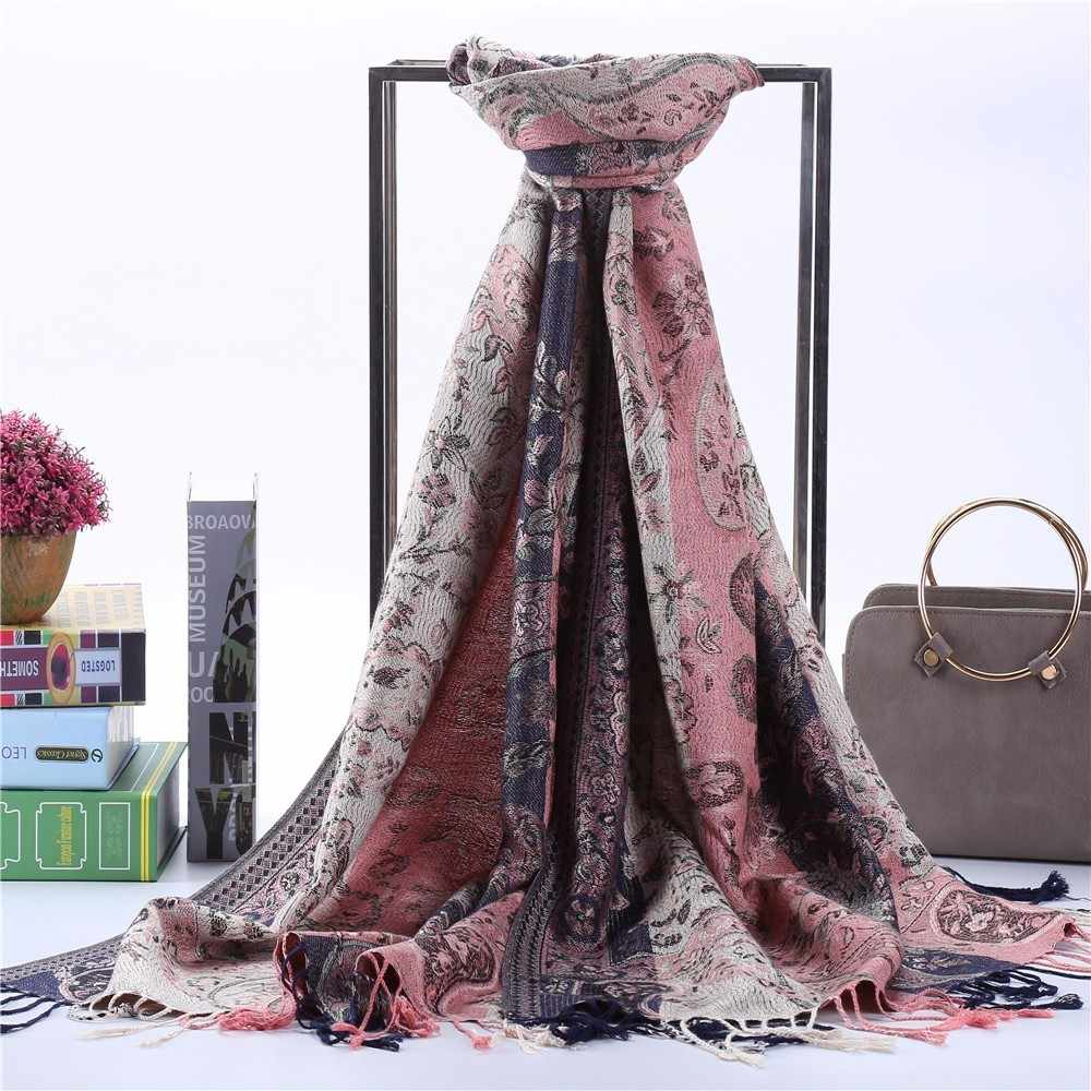 Czhcqq High Quality Fashion Woman Paisley Bandanna Scarf Lingerie Korean Style Women Kawaii Shawl Free Shiping