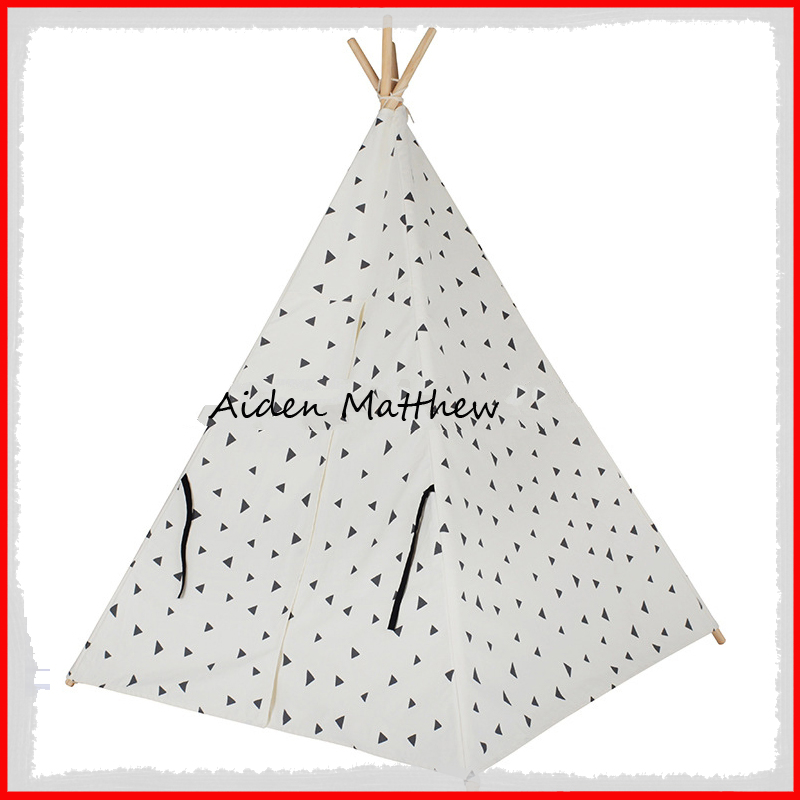 Free Shipping Foldable Kids Tent Teepee Tents For Sale For Sale Toy Tents hot sale indian wood tent teepee tents for sale for sale teepee tent for party