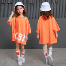 20c4c1477349 Stage Show Hip Hop Dance Costume for Kids Tops Boy Girl Jazz Dance Clothing  Child Street