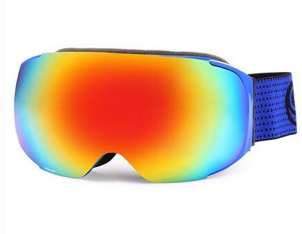 POLISI Winter Ski Goggles Men Women Replaceable Night Vision and Daytime Lens Eyewear Polarized Anti Fog