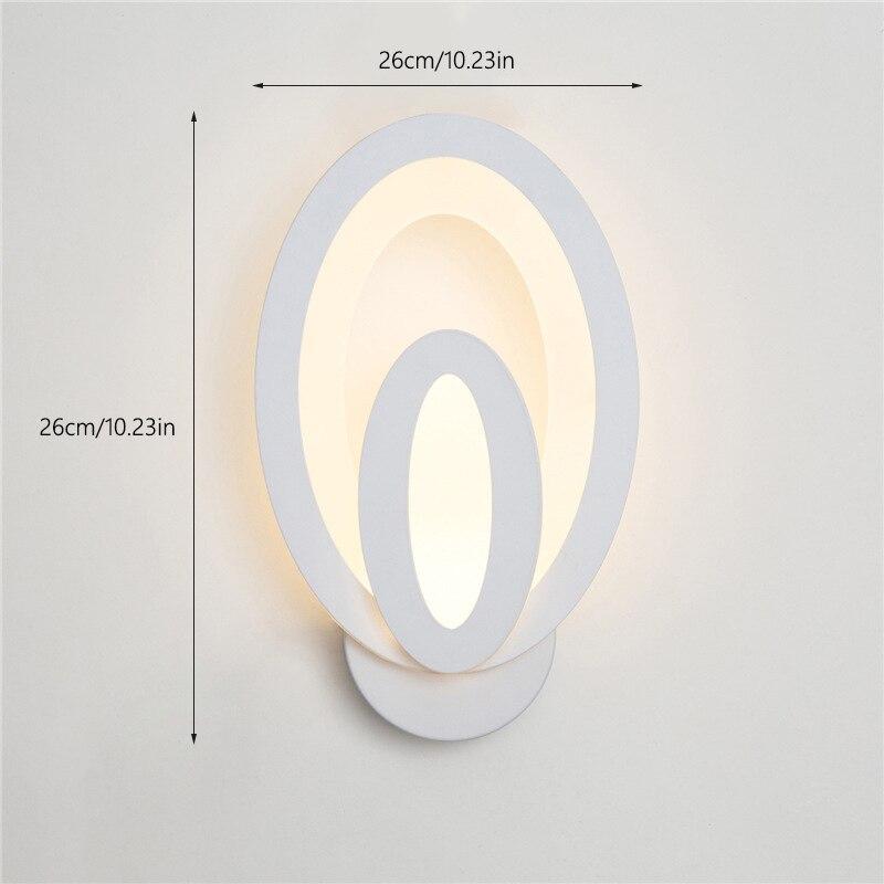 luz da parede do corredor varanda quarto