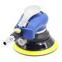 5 인치 자동차 polishers 공압 샌더 공압 연마 기계 공기 편심 궤도 샌더 도구