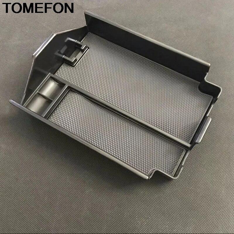 TOMEFON For Mazda CX 8 CX8 CX 9 2017 2018 Car Center Armrest Storage Glove Box Organizer Container Plastic Interior Accessories