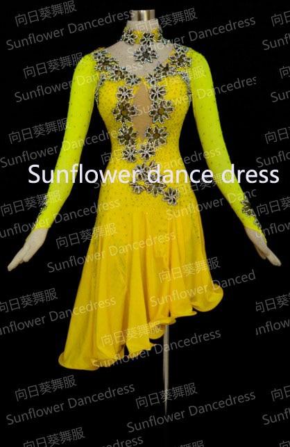 Latin dancewear font b women b font ballroom Dance costume Girls Salsa font b Dress b