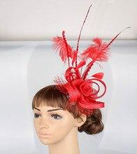 Sinamay fascinator hair accessories
