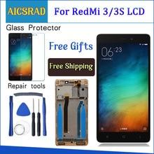 テスト液晶デジタイザ xiaomi Redmi 3 4s Lcd ディスプレイタッチスクリーンフレーム Xiaomi Redmi 3 プロ/ 3 S Pro 交換部品