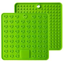 Silicone Trivet Mats Pot Holders Spoon Rest Coasters Heat Resistant Insulation Pad Kitchen Tool