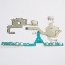 Para o Jogo de Reparo Do Console PSP 3000 PSP3000 Membrana Condutora Do Teclado de Substituição para a Direita/Esquerda R/L Chave e início Início Flex Cable