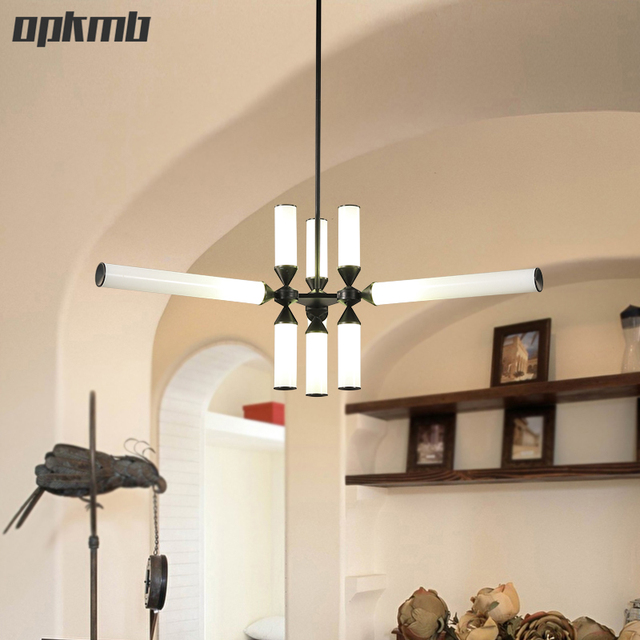 Australia Roll Glass Chandelier Lamps Nordic Art Lighting For Cafe Bar Branch