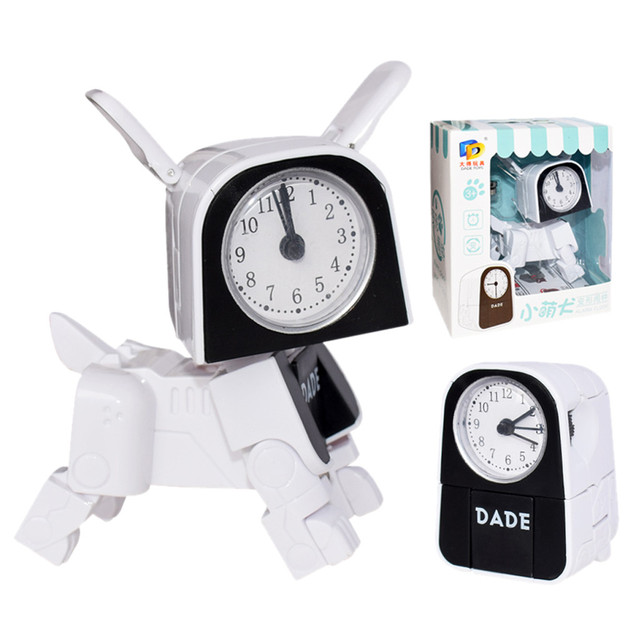 brixini.com - Cartoon Dog Alarm Clock