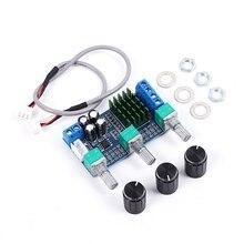 Xh-m567 TPA3116D2 цифровой Мощность Усилители домашние доска DIY Аудио Усилители домашние модуль для дома Театр телефон компьютер двухканальной 80 Вт